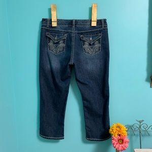 Nine West Date Night crop jeans EUC!